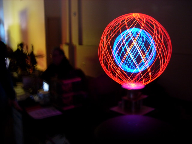 Lux Lucis: Spinning LEDs in long exposure