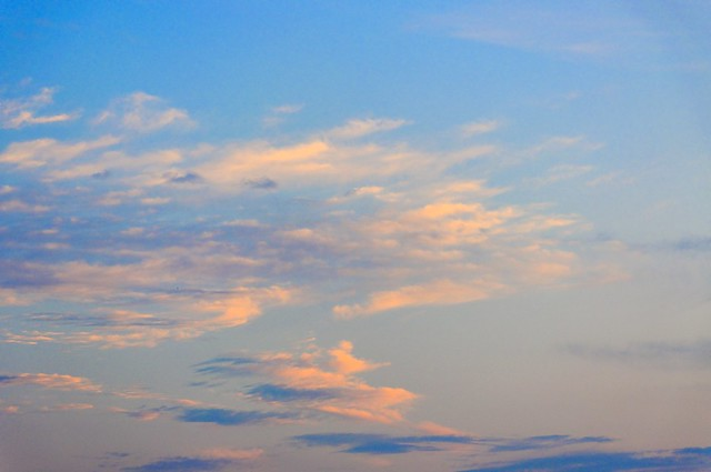 Clouds at Sunset - #4534