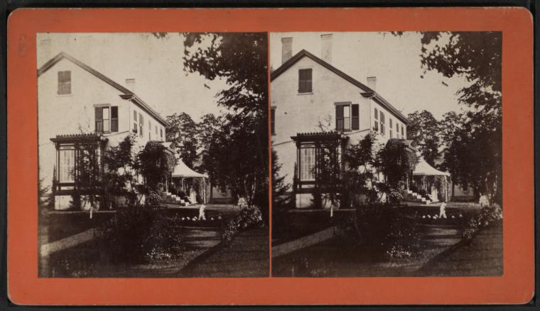 [View of a home in Essex, N.Y.]
