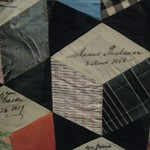 Autograph Quilt: James Buchanan