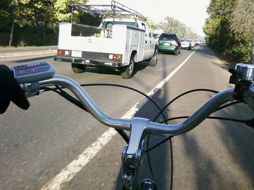 Foothill Expressway traffic panda