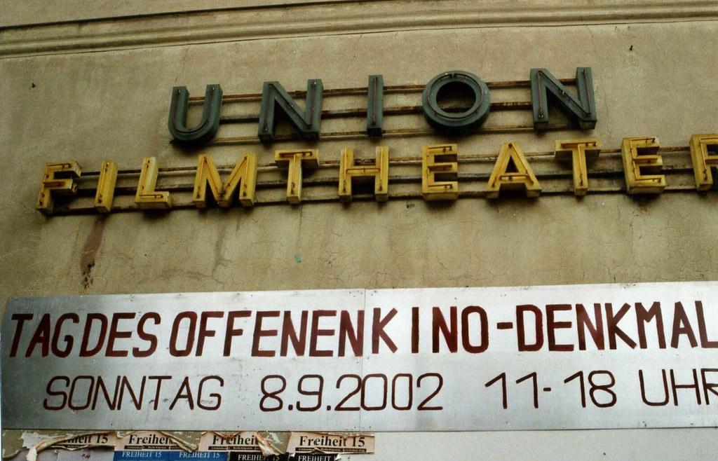 Kino Union Friedrichshagen Party