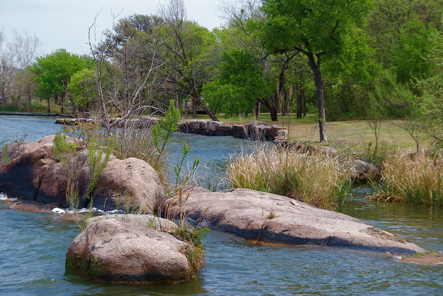 Rocks in a Lake