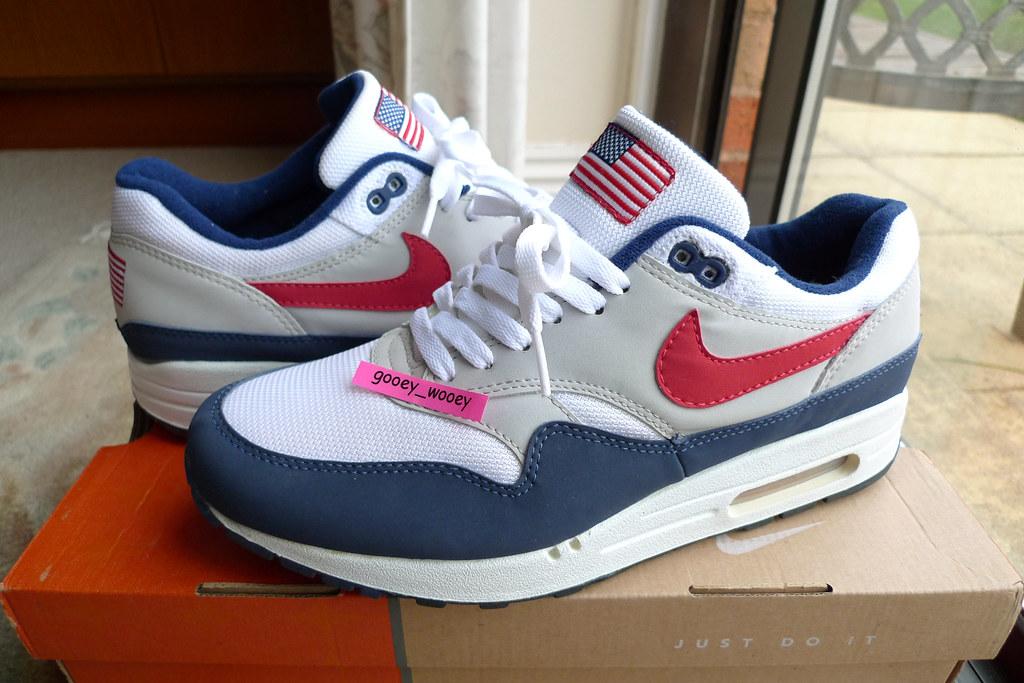 super popular ecadc 5ba35 Nike Air Max 1 Original Mesh 'USA' ('02). | glad to finally … | Flickr