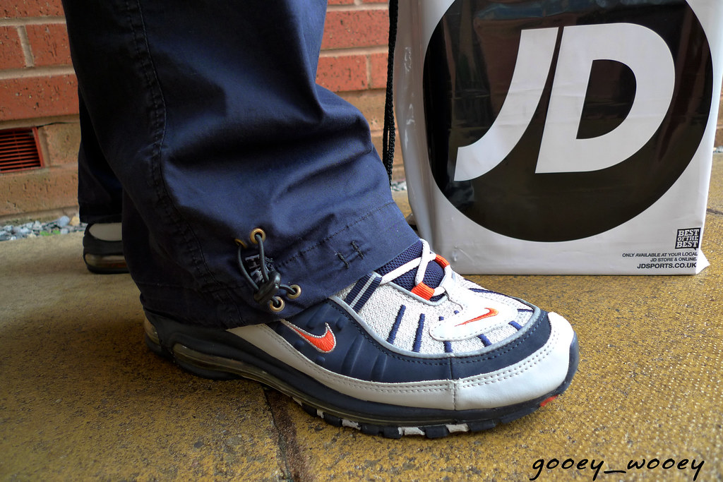 the latest 96c24 d112b Nike Air Max '98 JD Sports Exclusive ('01). | today to JD to ...