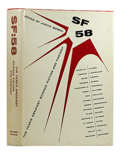 Judith Merril, ed. - SF 58: The Year's Greatest Science Fiction and Fantasy