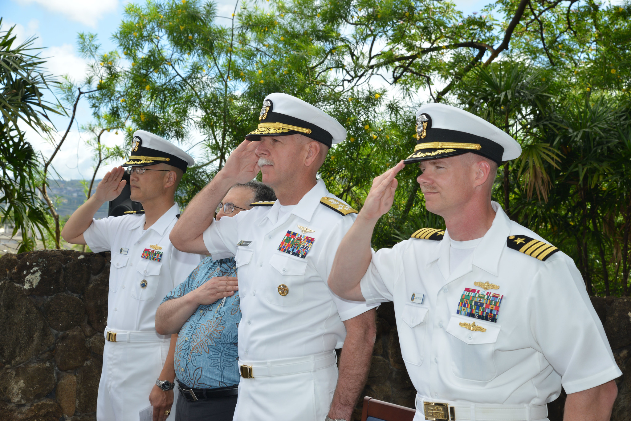u s  pacific fleet marks 73rd anniversary of the battle of