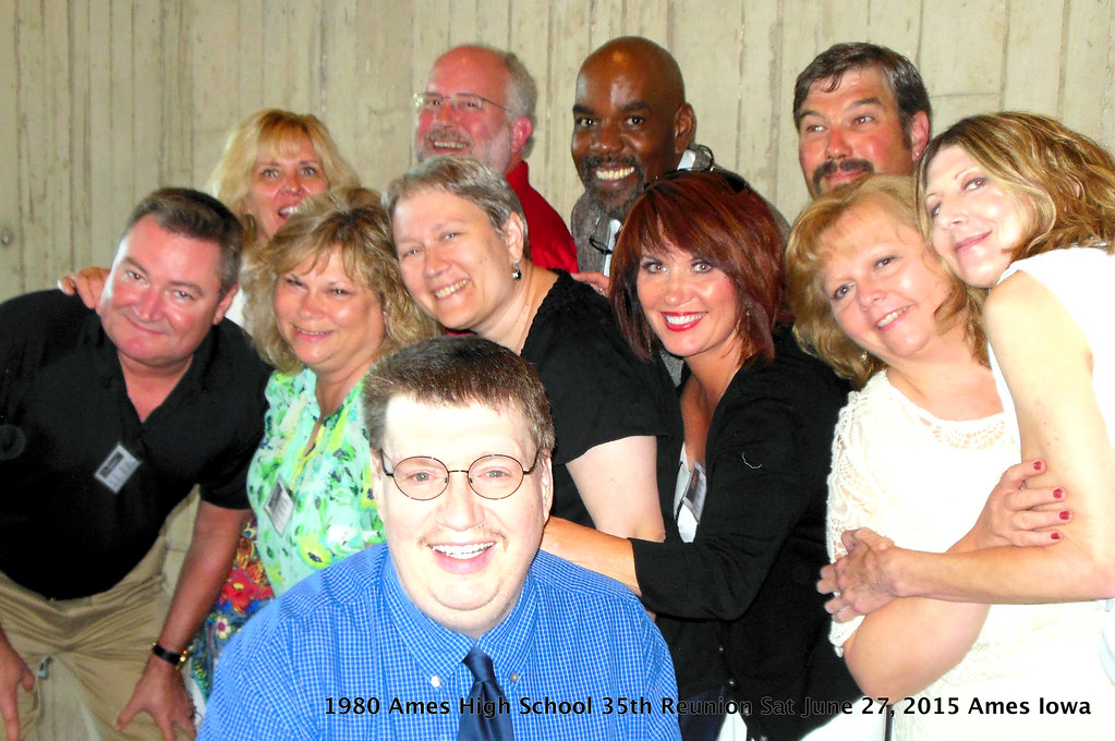 1980 Ames High School 35-Year Reunion Planning Committee ...