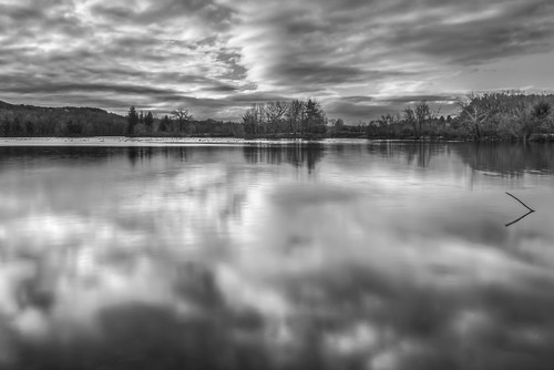 trees winter sky reflection monochrome clouds us pond unitedstates connecticut avon types locations landscapephotography fishermeadows