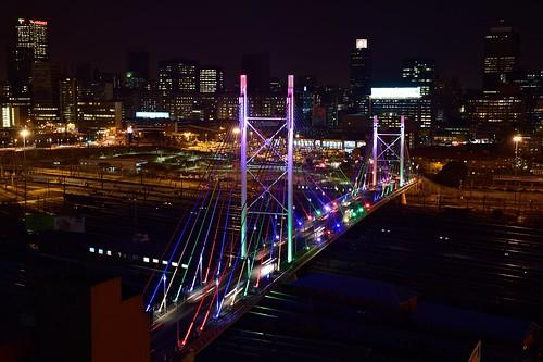 Mandela Bridge, Johannesburg, Gauteng, South Africa | by South African Tourism
