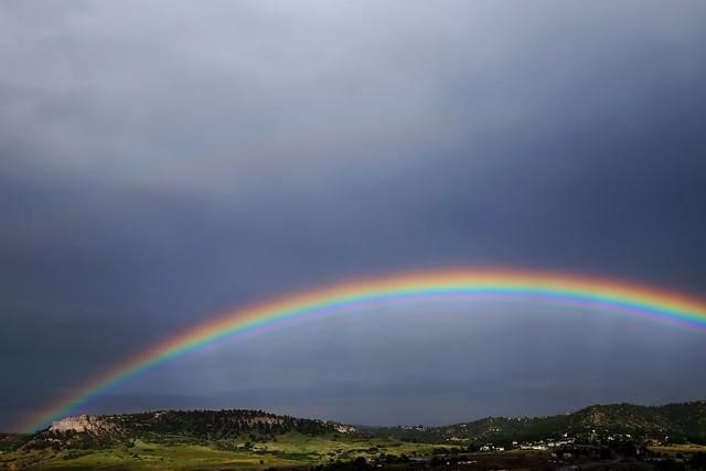 Pulpit Rock Rainbow - Colorado Springs