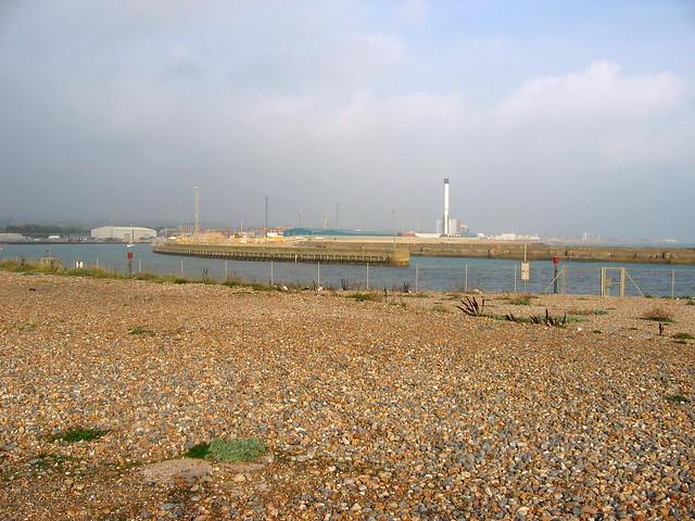 The beach at Shoreham