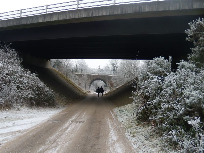 Under the A whatever Wanborough to Godalming