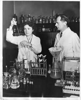 Gerty Theresa Radnitz Cori (1896-1957) and Carl Ferdinand Cori (1896-1984) | by Smithsonian Institution