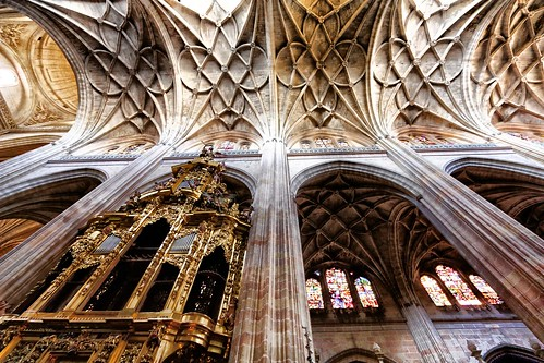 Organ and Ceiling Details, Segovia Cathedral | by trioptikmal