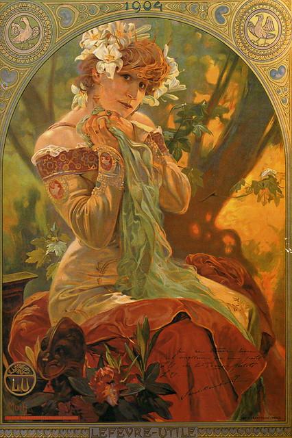 Sarah Bernhardt - Chromo LU