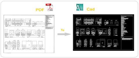 Yantram Make CAD Drawing From Your PDF File | Yantram conver