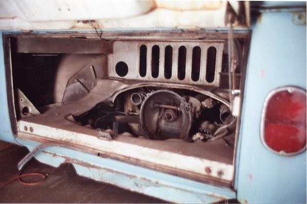 1966 Double Cab VW Bus Truck in Irving, Texas - engine com ...