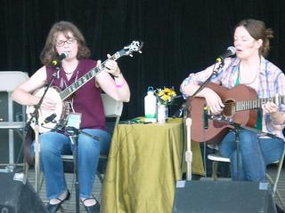 The Baird Sisters @ Philadelphia Folk Festival, 2008