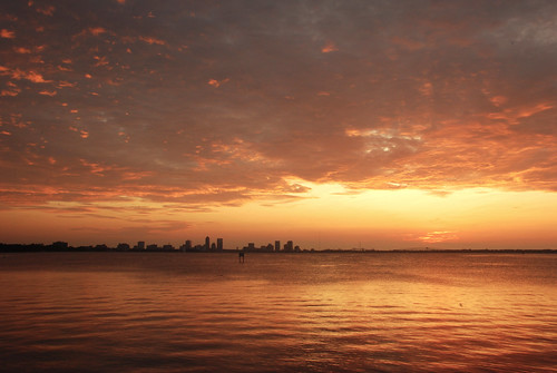 skyline sunrise nikon florida jacksonville stormclouds stjohnsriver d80