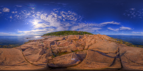 Panorama from Les Escoumins, Quebec, Canada [Explored] | by haban hero