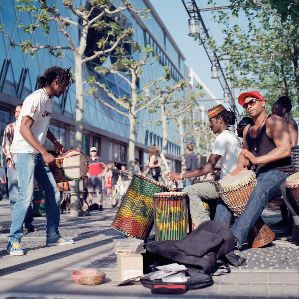 African Drumming by christian.senger