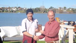 Jeff Coffin winner of 2009 Summer Series Trophy | by PLSC (Panmure Lagoon Sailing Club)