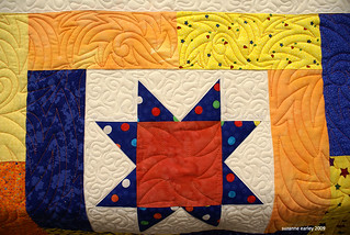 Lucky Stars quilt detail | by auntsuzy