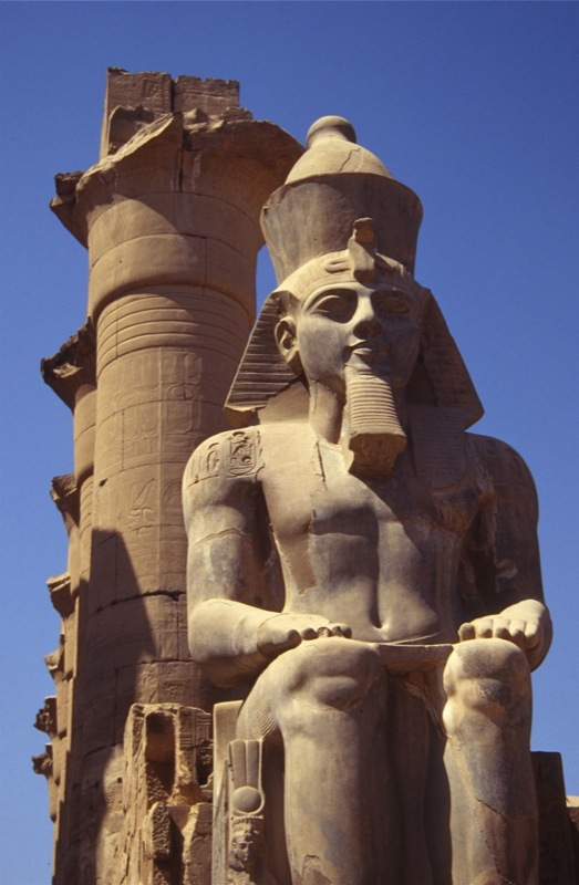 Statue of Ramses II, Luxor Temple, Egypt | Statue of Ramses … | Flickr