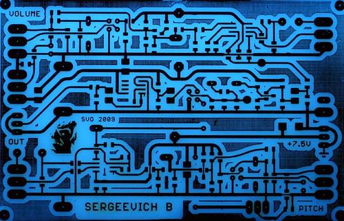 Sergeevich Rev.2 PCB | by svofski