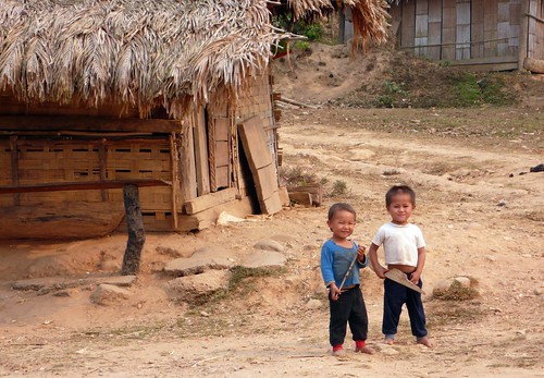 little troublemakers, laos | by hopemeng