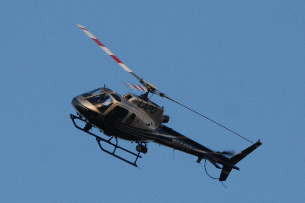 LOS ANGELES POLICE DEPARTMENT (LAPD) HELICOPTER N664PD | Flickr