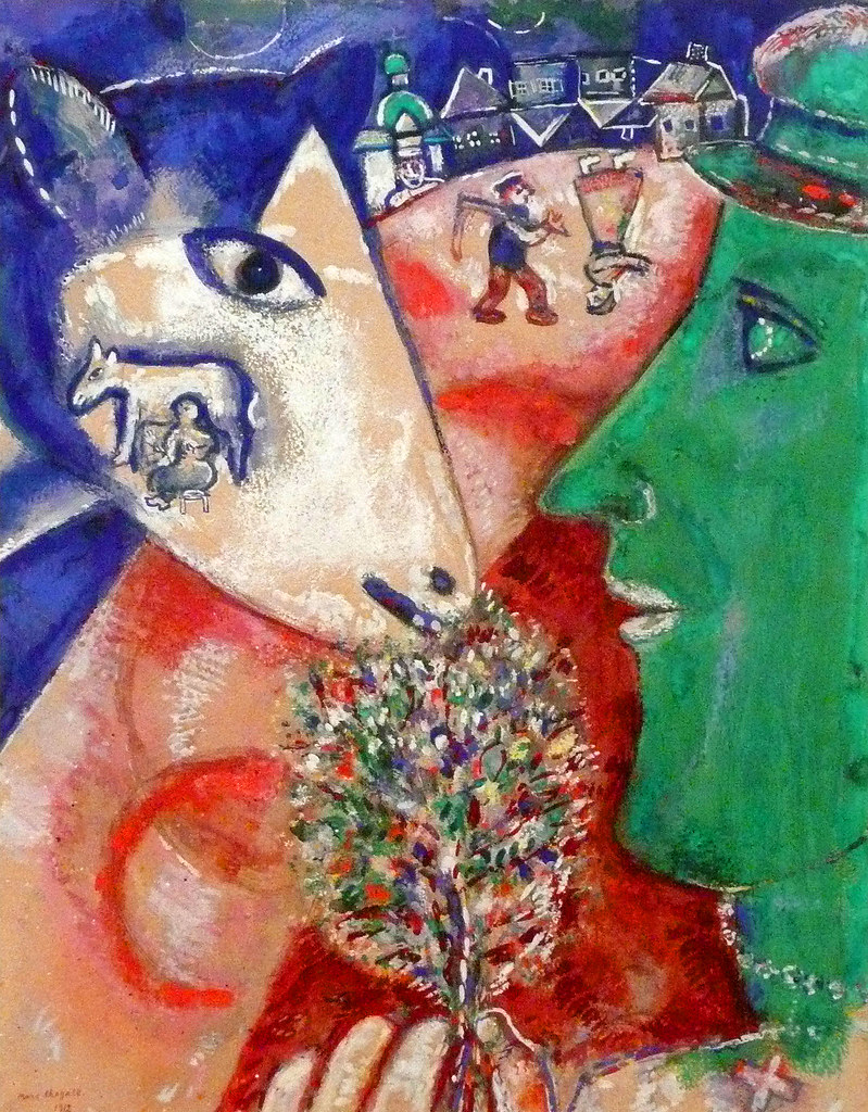 Marc Chagall, I and the Village | Marc Chagall (1877-1943 ...