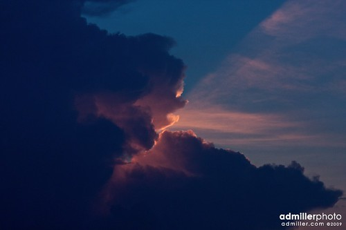 sunset cloud storm face clouds canon florida 85mm cloudformation cantonment 40d floridathunderstorms
