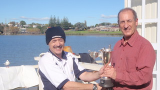 Jeff Coffin winner of the 2009 Winter Series Trophy | by PLSC (Panmure Lagoon Sailing Club)