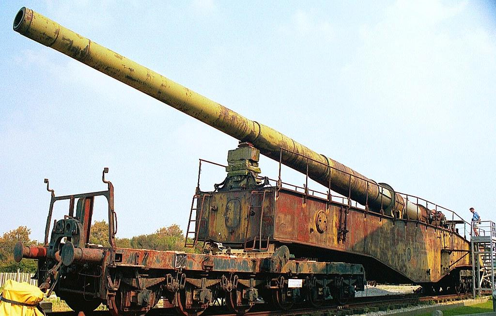 K5 RAILWAY GUN