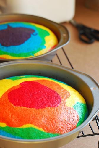 how to: rainbow cake! | by a.meadowlark