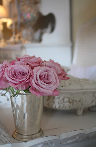 Pink Roses & Silver | by Romantic Home