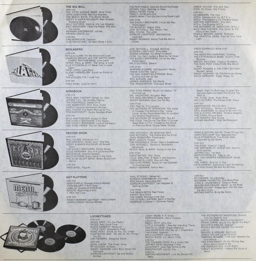 Warner Brothers Compilation Albums | Warner Brothers Compila… | Flickr