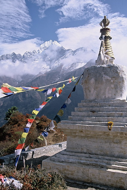 Tenzing Chorten, Everest Trail