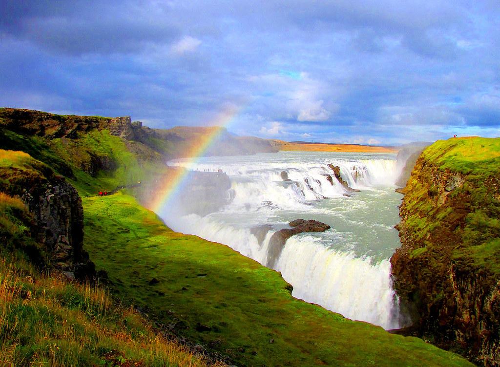 Gullfoss, The golden falls