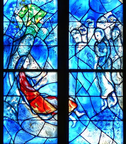 Resultado de imagen de Chagall, Iglesia de Mainz