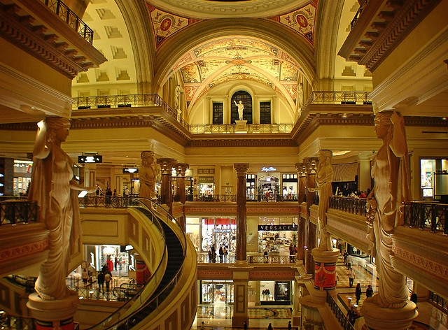 Caesar's Palace Shopping Mall
