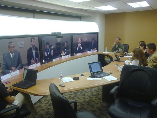 Cisco Telepresence with CEO of Cisco + Warner Music | by jeremiah_owyang