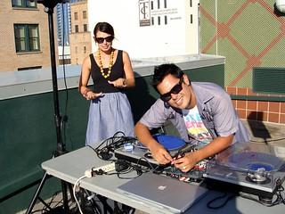 DJ Dayn & Becky Setup