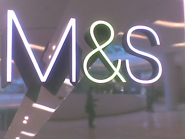 m&s uses beautiful helvetica light | Uploaded with the Flock… | Flickr