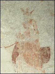 St Edmund on his throne