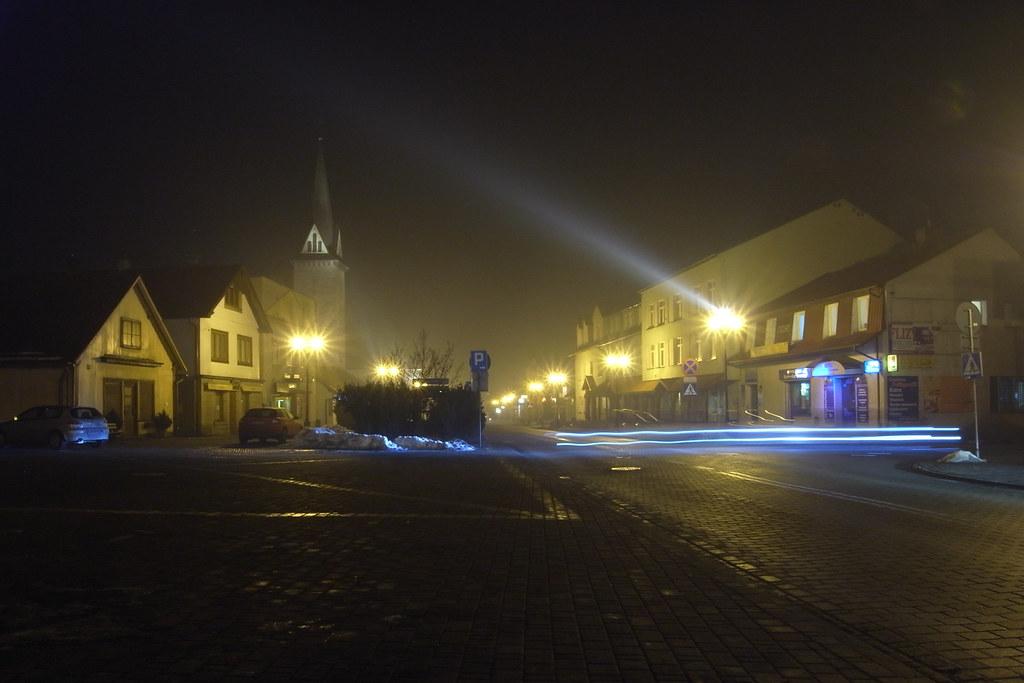 Wieczór na Rynku / Main street evening