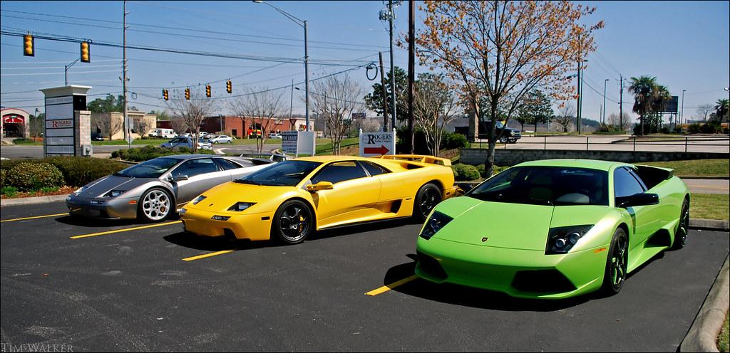 2 Lamborghini Diablo Vt 6 0s And An Lp640 Epic Er Flickr