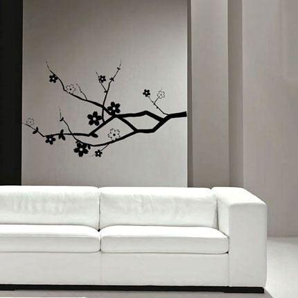 Cherry Blossom Branch - Wall Decal | by Vinyl Design